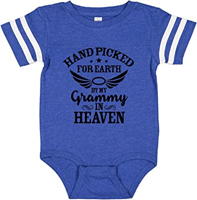 Inktastic Handpicked for Earth By My Grandma in Heaven Angel Newborn Layette