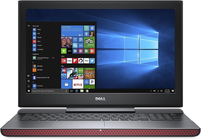Dell Inspiron 15 7567 Laptop: Core i5-7300HQ, 256GB SSD, 8GB RAM, GTX 1050Ti, 15.6inch Full HD Display (Renewed)