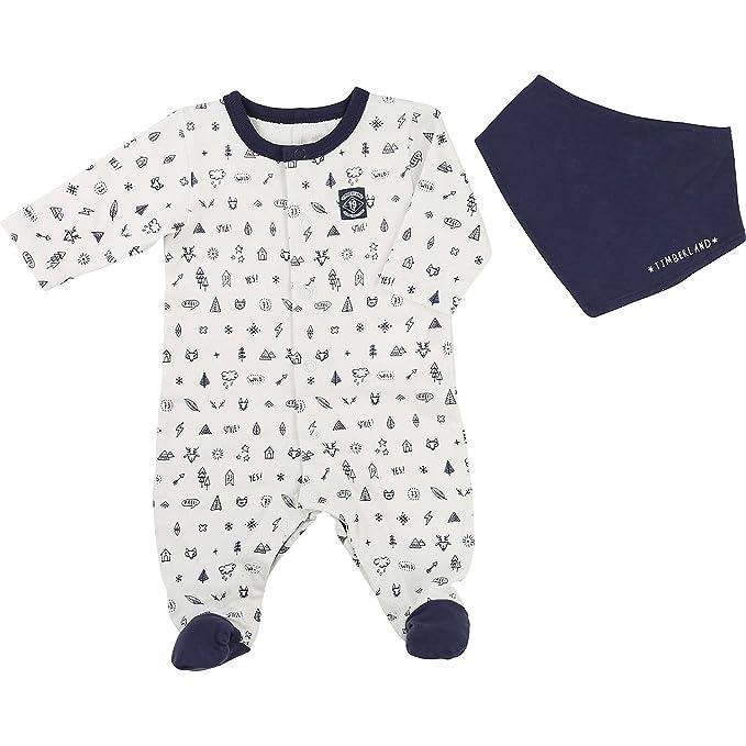Timberland - Pelele - para bebé niño azul 62 cm: Amazon.es ...