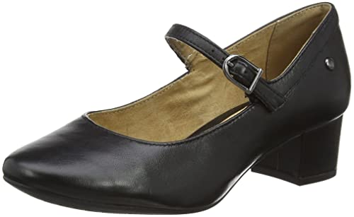 FIND Damen Mary Jane-Schuhe, Schwarz (Black), 41 EU