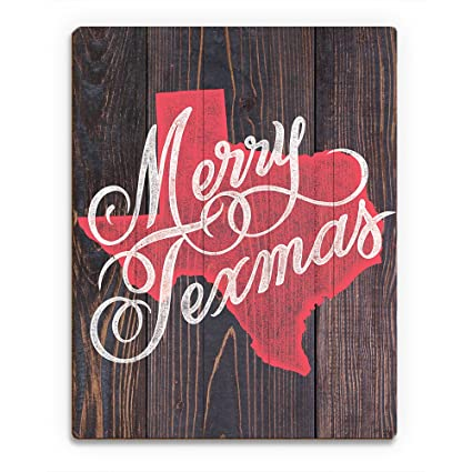 Amazon red texmas on wood merry christmas greeting saying from red texmas on wood merry christmas greeting saying from texas on woodplank pattern wall m4hsunfo