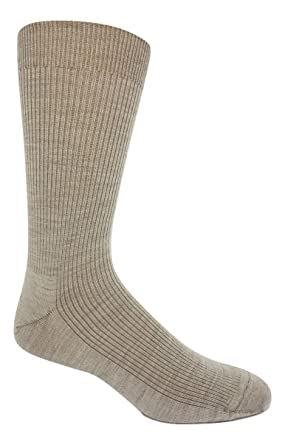 8bc7c6f30247 Non-elastic top Merino Wool Dress Socks (2 Pairs) at Amazon Men's ...