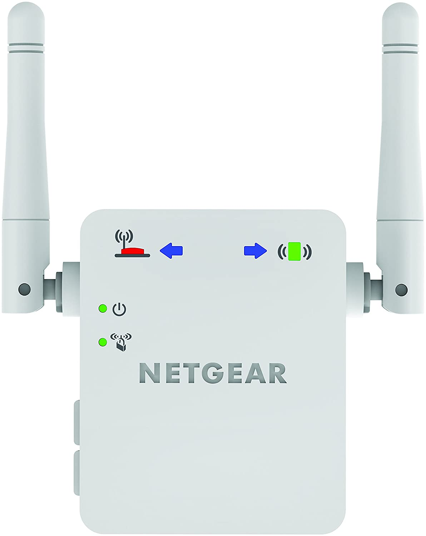 Amazoncom Netgear N300 Wall Plug Version Wi Fi Range Extender