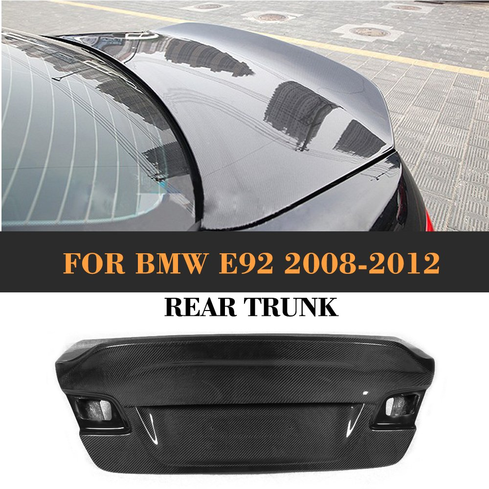 MCARCAR KIT For BMW 3 Series E92 325i 330i 335i Coupe Rear Trunk Cover Customized Tuning Carbon Fiber Body Kit