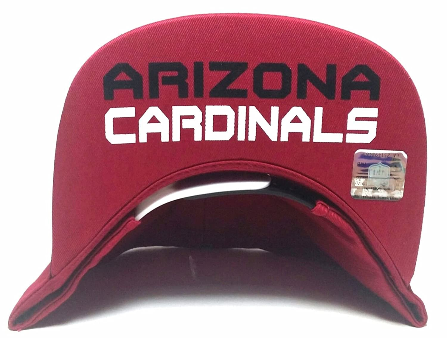 906723b6 Arizona Cardinals New NFL Youth Kids Red Black Visor Flip Era ...