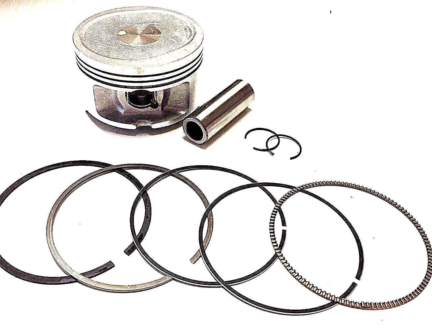 70mm Piston And Rings Set 250cc 260cc Linhai Tank Roketa Mc-54B Vog Scooter Super Motor Parts
