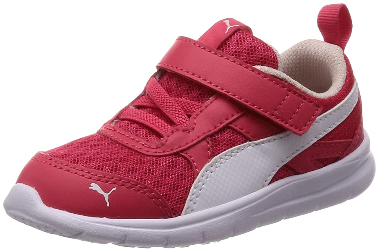 4173d293ad3d4 Puma Scarpe Baby Sneakers Flex Essential in Tela Rosso 190684-04  Amazon.co.uk   Shoes   Bags