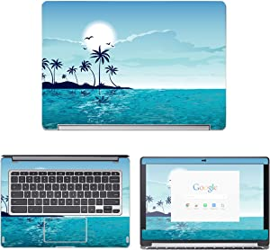 """Decalrus - Protective Decal Skin Sticker for Acer ChromeBook R13 CB5-312T (13.3"""" Screen) case Cover wrap ACchrmbkCB5_312-96"""
