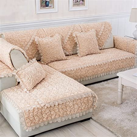 Terrific Lvying Furniture Sofa Protecter Rose Floral Quilted Plush Andrewgaddart Wooden Chair Designs For Living Room Andrewgaddartcom