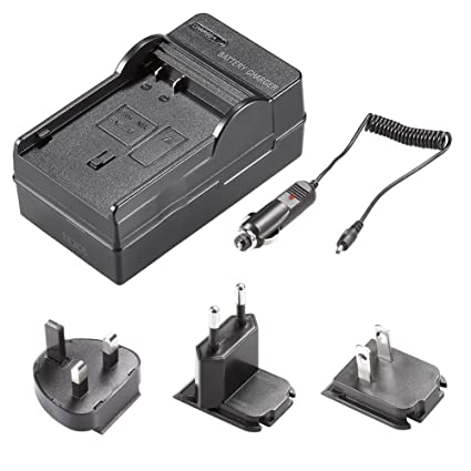 Neewer 4 In 1 Battery Charger Kit with US/EU/UK Plug/ Car Adapter for Nikon  EN-EL15 Battery Works with MB-D11 MB-D12 MB-D14 MB-D15 MB-D16 Battery Grip