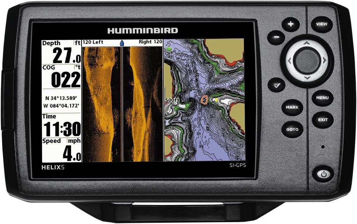 Humminbird Helix 5 Chirp SI GPS G2 Echolot (83/200 + 455 KHz ...