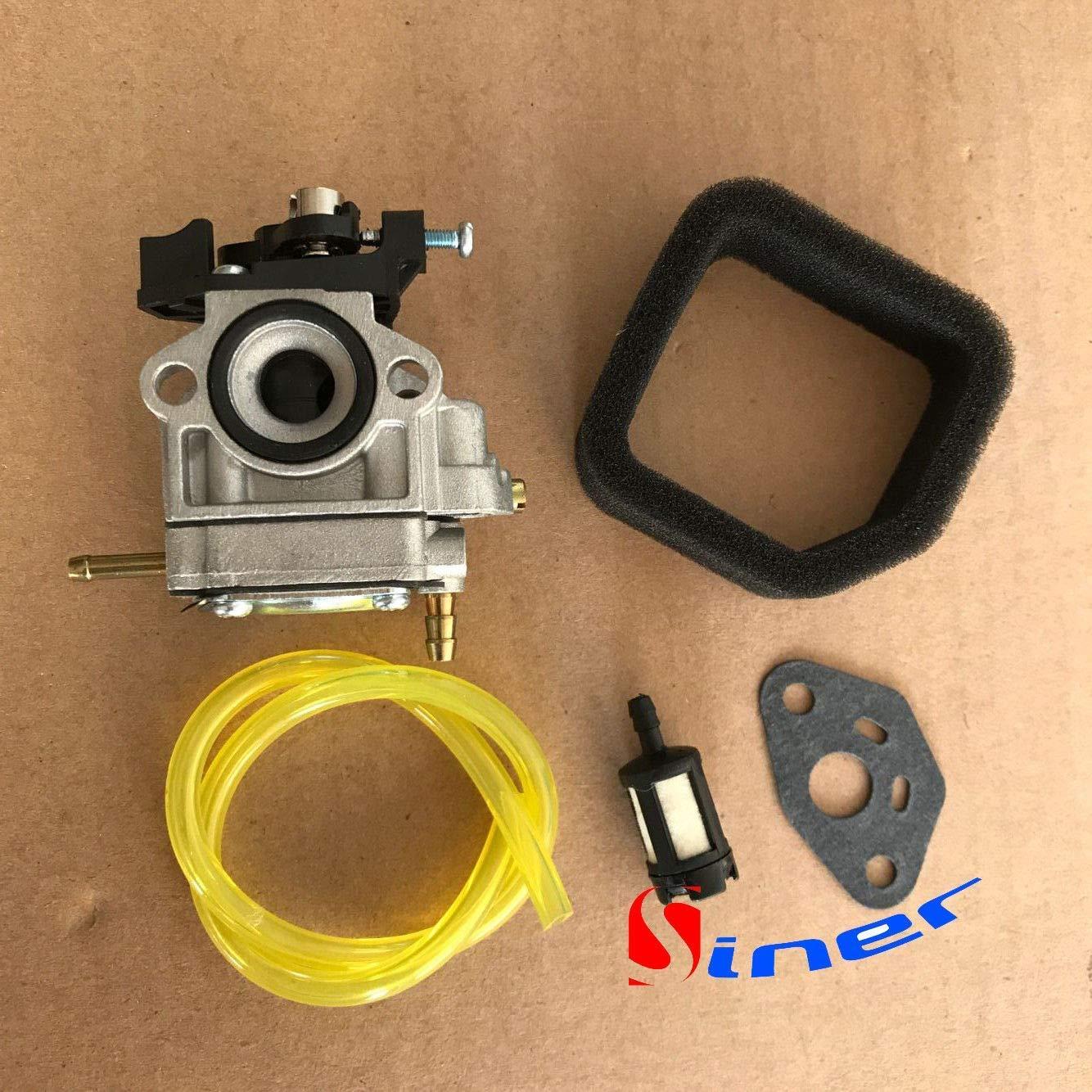 HQparts Carburetor for Toro Trimmer Model 51930 51932 51934 51930B 51932B 3074502 + 9071103