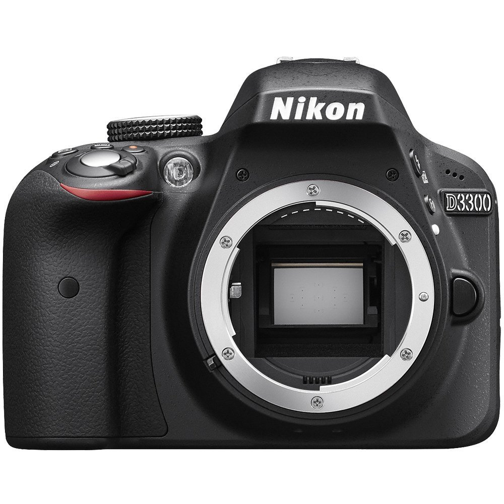 Nikon D3300 24.2 MP Digital SLR Camera Body Only - Black (Certified Refurbished) by Nikon