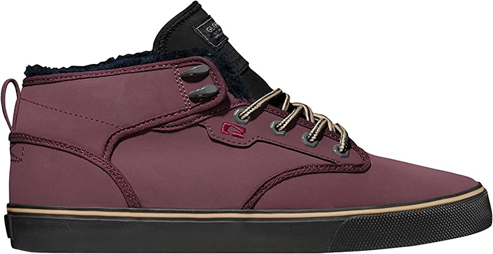 Globe Skateboard Shoes MOTLEY MID Eggplant//Black Fur