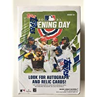 $32 » 2021 Topps Opening Day Baseball BLASTER box (77 cards/box)