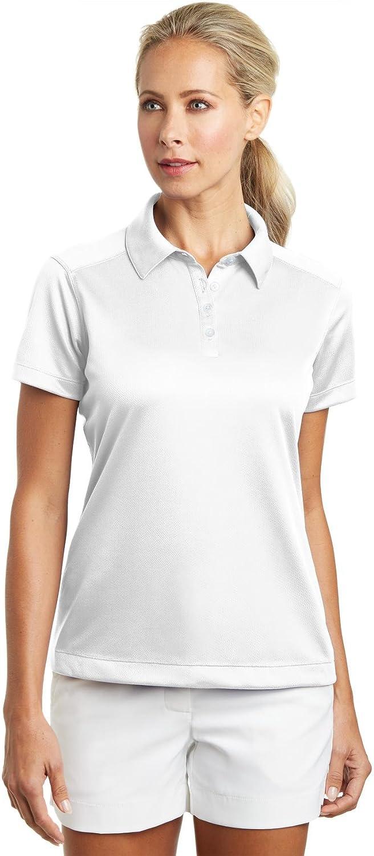 Nike Golf - Ladies Dri-FIT Pebble Texture Polo. 354064: Amazon.es ...