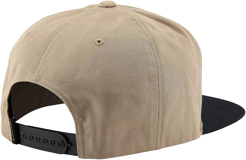 Nixon Simon Snapback Hat Heather Khaki Black