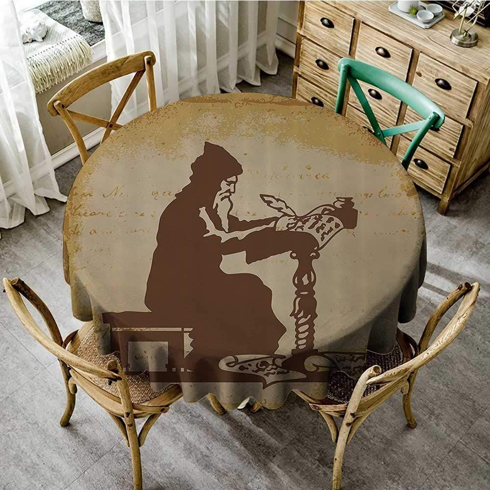 Fantastic Amazon Com Familytaste Christmas Round Tablecloth Medieval Interior Design Ideas Ghosoteloinfo