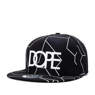 2019 New Bone Gorras Planas Snapbacks Hot Style Masculino Feminino Dope Print Flat hat Baseball Cap