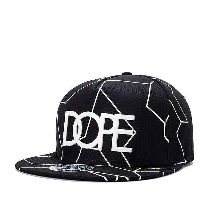 2019 New Bone Gorras Planas Hot Style Masculino Feminino Dope Print Flat hat Baseball Cap Hip