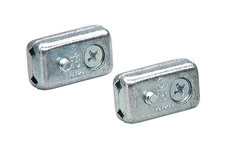 Amazon.com: Lehigh 7318-6 3/16-Inch Flush Wire Rope Clamps, Zinc ...