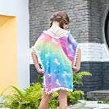 Kid Girls Chiffon Unicorn Mermaid Cover-up Beach