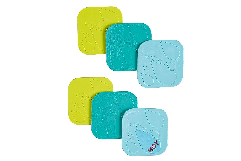 Safety 1st 32110149 Anti-Rutsch Pads f/ür die Badewanne 6 St/ück
