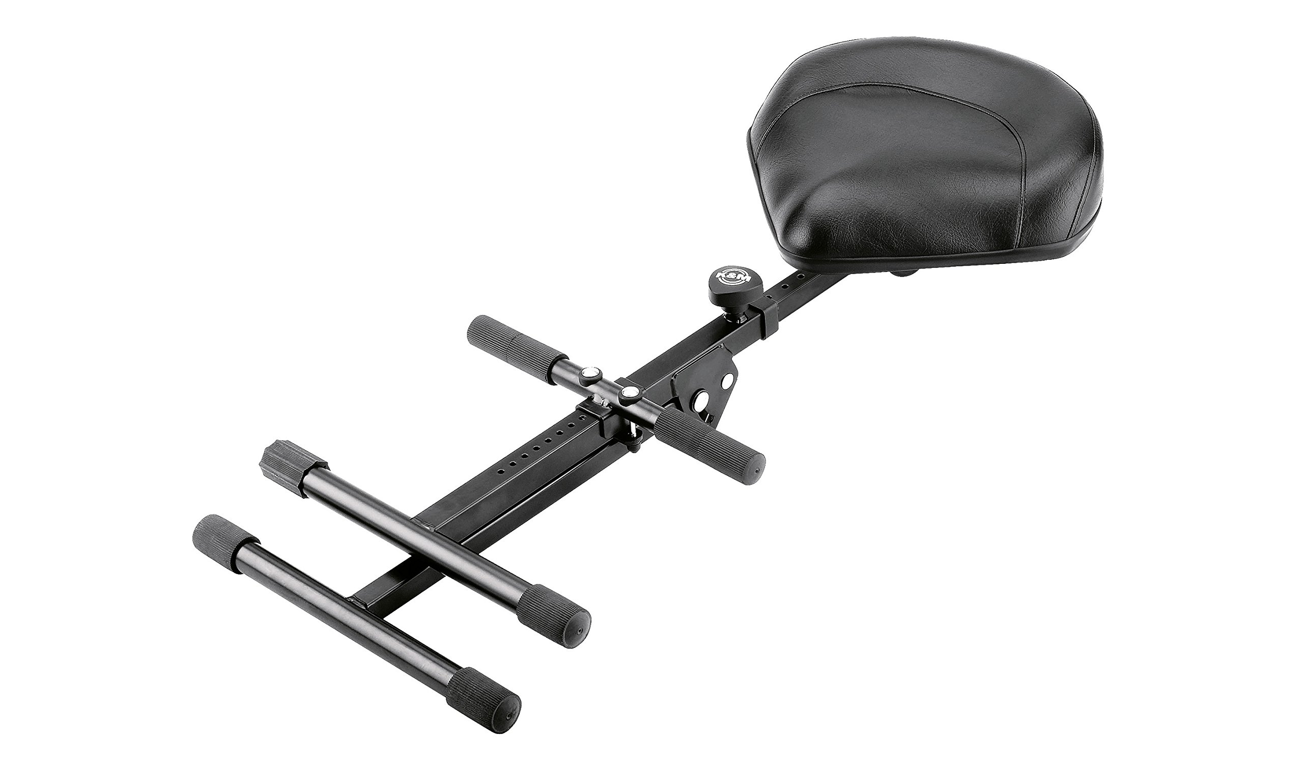 K&M Stands K&M Performance Stool - black imitation leather 14045.000.55 by K&M Stands (Image #2)