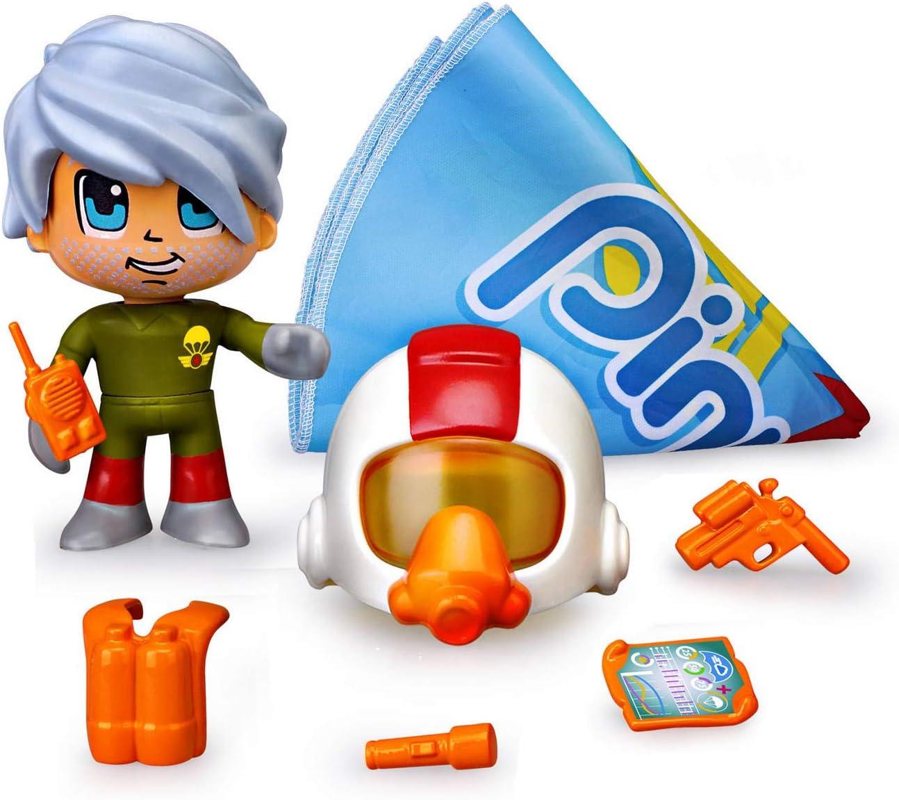 Pinypon Action - Paracaidista, 1 figurita con Accesorios ...