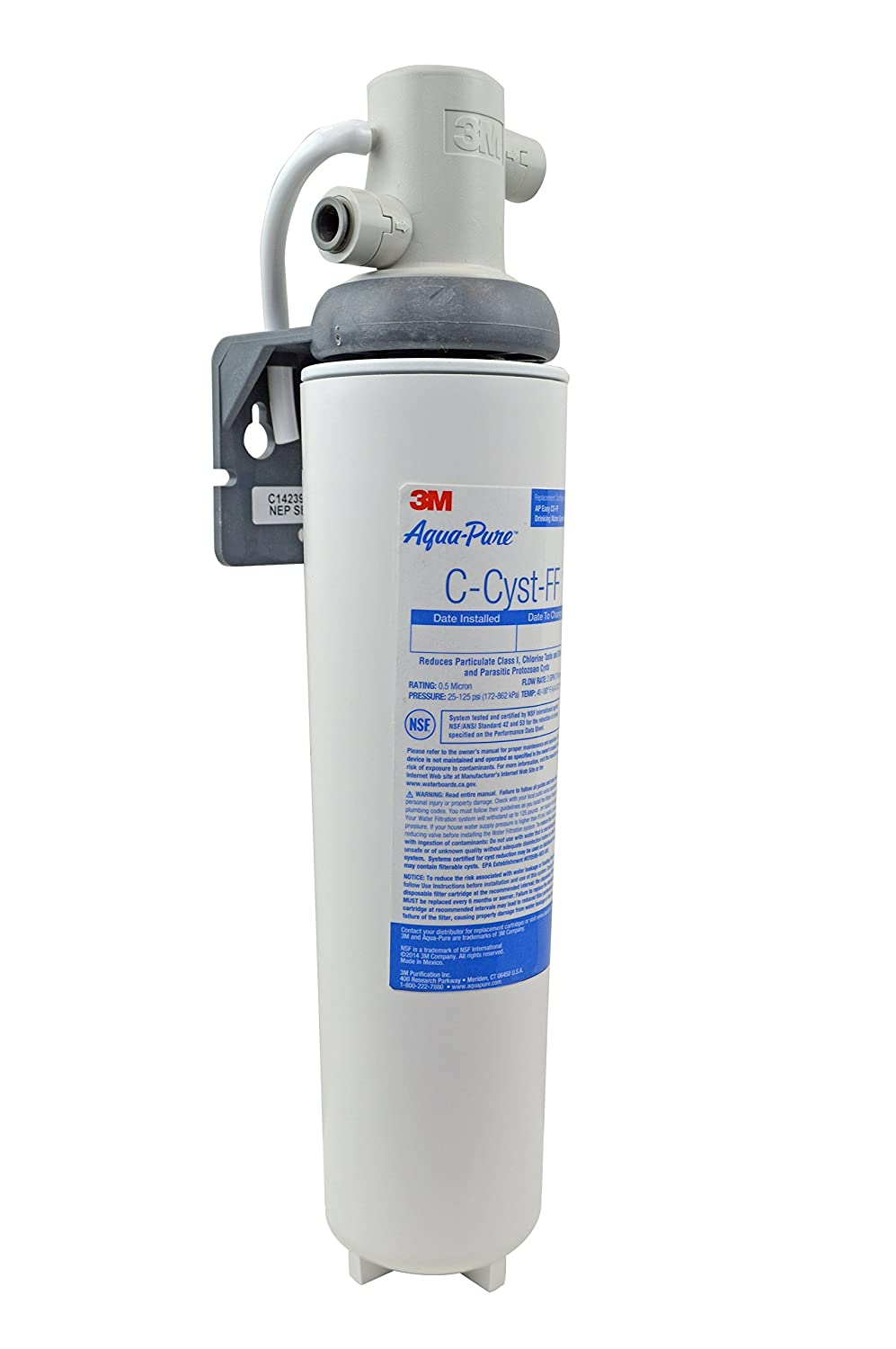 3M Aqua-Pure Under Sink Water Filtration System – Model AP Easy Cyst-FF