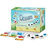 MKgames Educational Family Card Game - Ocean. Develops Cognitive & Learning Skills: Visual Perception, Memory and More. Kids Age 3+. Ideal for Professional Toolkit