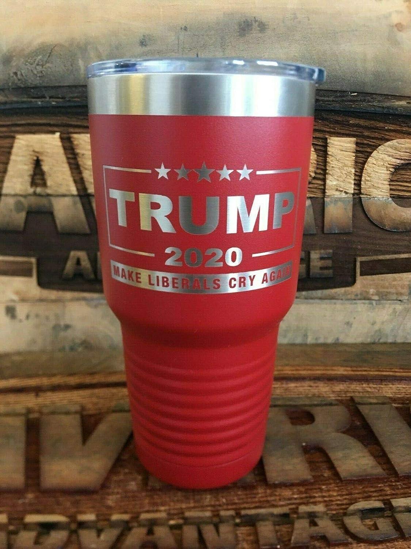 TRUMP PENCE 2020 Starbucks Reusable Cold Cup Liberal Tears Keep America Great