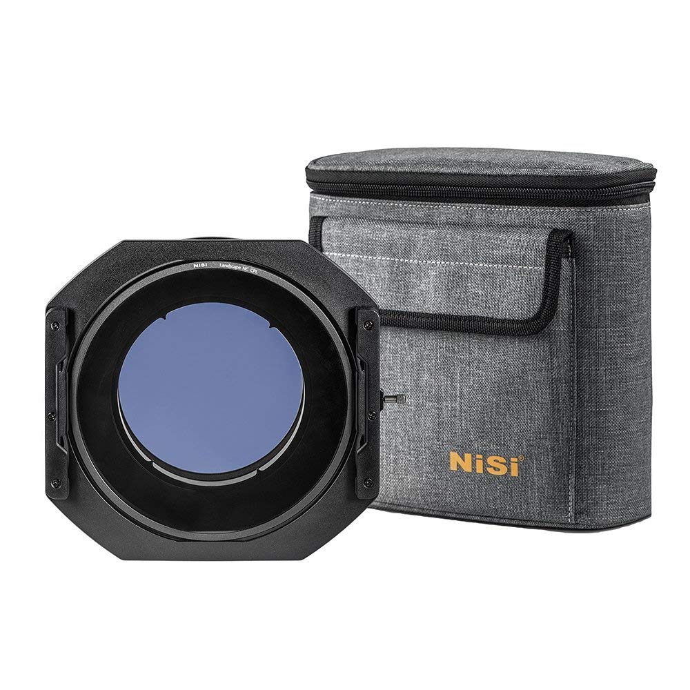 NiSi S5 Kit 150mm Filter Holder with Enhanced Landscape NC CPL for Sigma 14-24mm f/2.8 DG Art Series by NiSi