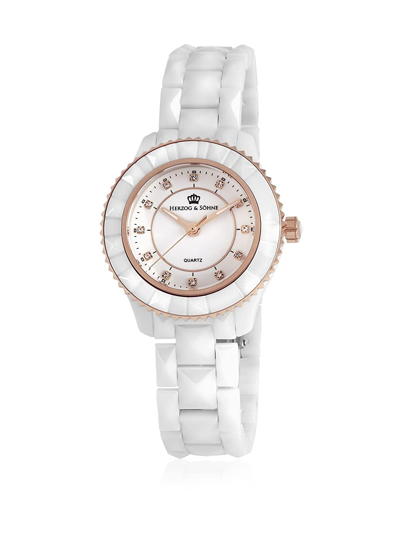 Herzog & SÖhne Damen-Armbanduhr XS Analog Quarz Keramik HSW0A-586C