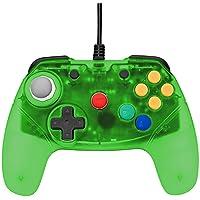 Retro Fighters Next Gen N64 Controller Brawler64 Gamepad Transparent Colors - Green - Nintendo 64