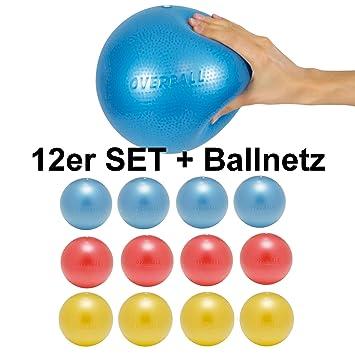 ATC Handels GmbH Overball - Juego de 12 balones con Red para ...