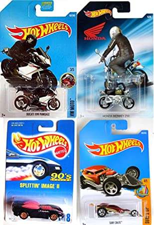 Amazon Com Cars Bikes Hot Wheels Motorcycle Hw Moto Ducati 1199