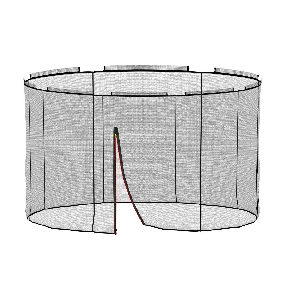 Ampel 24 Deluxe Sicherheitsnetz für Trampolin Ø 305 cm, Ersatznetz für 8 Stangen, Netz außenliegend, Ersatzteil reißfest und UV-Besteändig