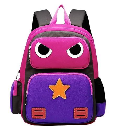 Greeniris Cute Robot Backpacks Kids Boys/Girls School Bag Bright ...