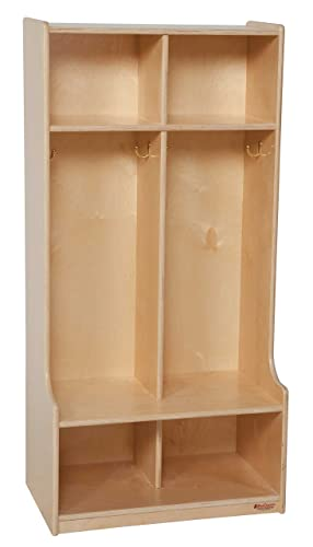 Wood Designs WD52400 2 Section Locker