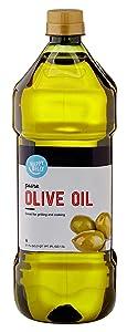 Amazon Brand - Happy Belly Pure Olive Oil, Mediterranean Blend, 51 Fl Oz