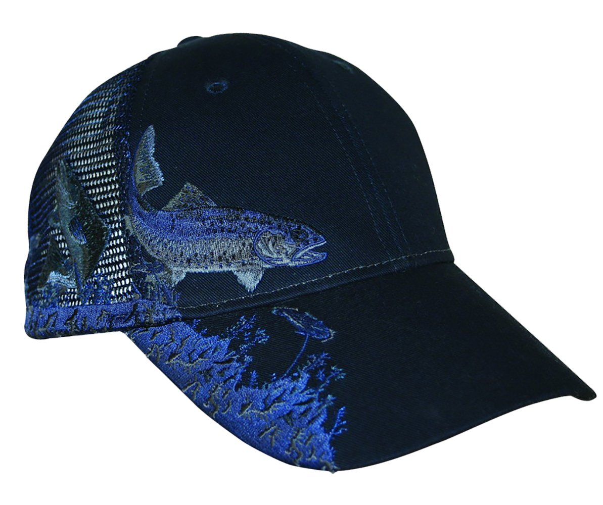 Amazon.com   KC Caps Unisex Hunting Fishing Cap Adjustable Embroidery  Baseball Hat with Air Mesh Back   Sports   Outdoors dd73a7096e3