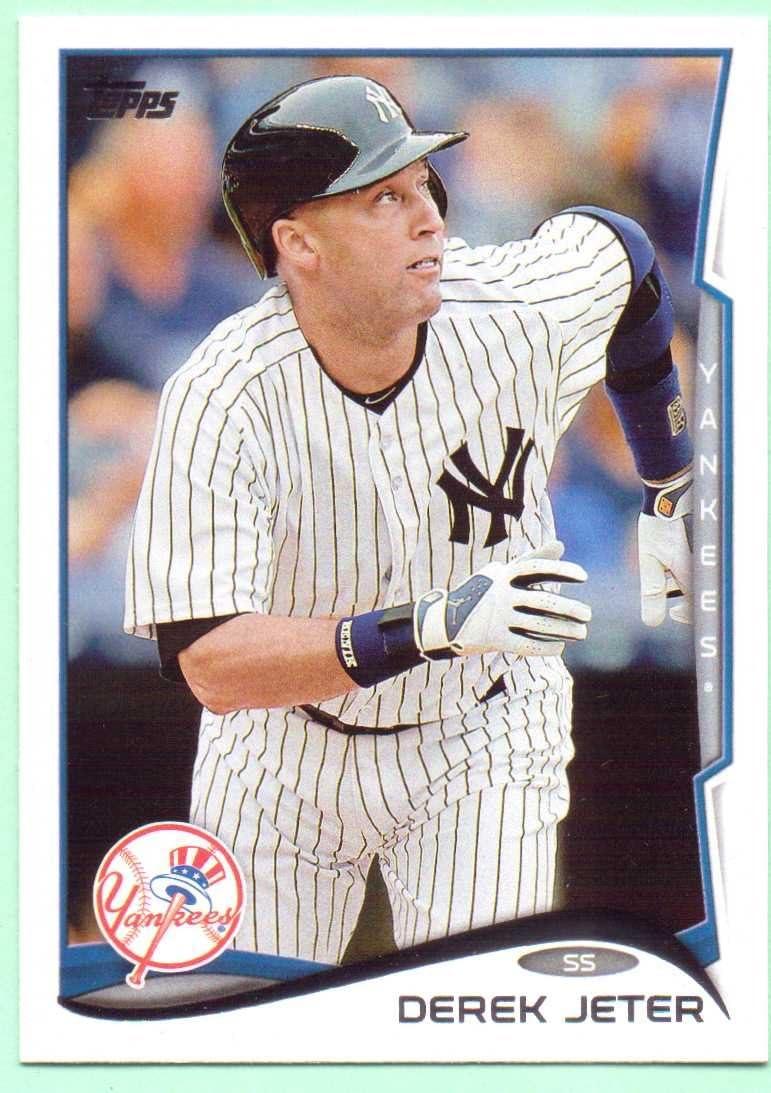 2014 Topps #200 Derek Jeter NM-MT Yankees