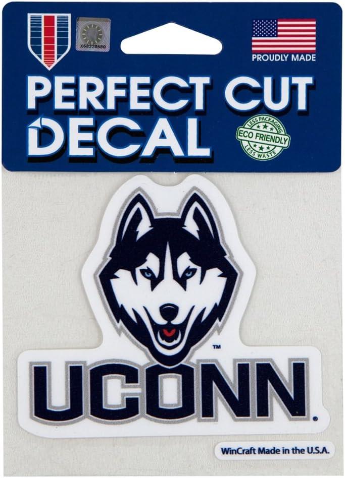 Wincraft Northeastern Huskies Husky 4x4 Perfect Cut Decal