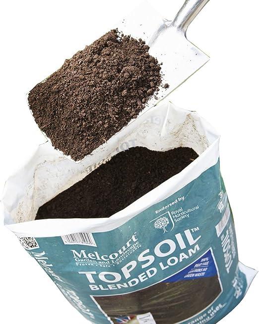Suregreen Melcourt Loam Soil Mezcla de Topos de Suelo, Bolsa de 20 l, Loam de Arena y Materia orgánica: Amazon.es: Jardín