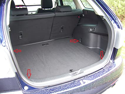 Amazon Com Floor Style Trunk Cargo Net For Mazda Cx 7 2007 08 09 10 11 2012 New Automotive