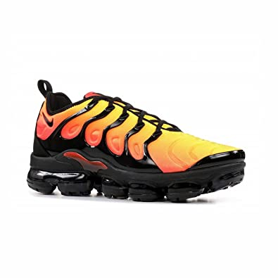 323eebadba426f Men s Air Vapormax Plus Black-Dark Grey Running Shoes Running Gym Sneaker  Blue Pink