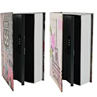 """KYODOLED Dictionary Diversion Safe Book,Secret Book Safe with Combination Lock,Money Hidden Box,9.5"""" x 6.1"""" x 2 .2…"""