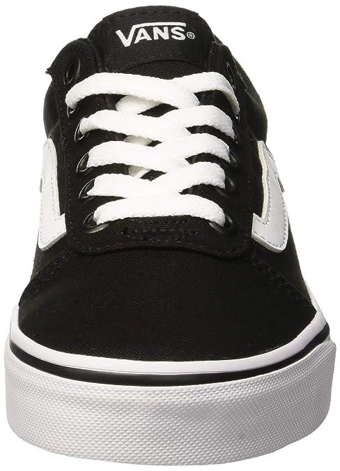a6a8dd148 Amazon.com | Vans Women's Ward Canvas Low-Top Sneakers | Fashion Sneakers