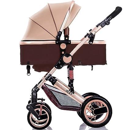 YBL Cuatro rondas muñecas Cochecito De dos vías paraguas Bebé sillas ...
